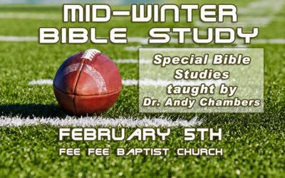 Mid-Winter Bible Study