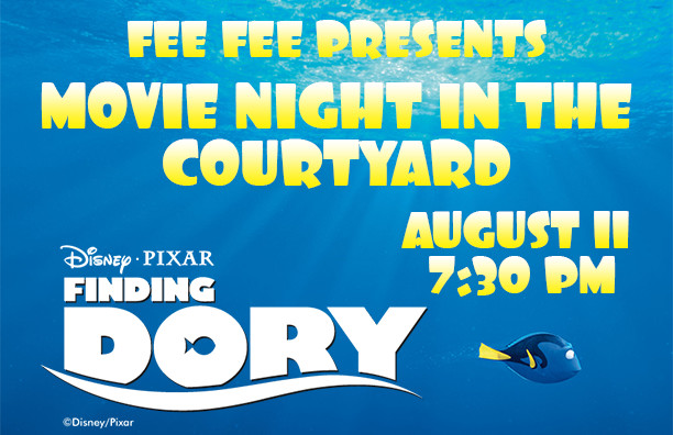Movie in the Courtyard – Finding Dory